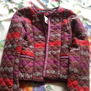 Red purple blazer jacket Miss Selfridge BNWT 4